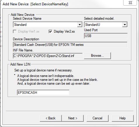 Web POS | Epson OPOS - Cash Drawer Setup – ClickPOS